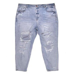 AE American Eagle Ripped MOM Jeans NWOT Plus 24